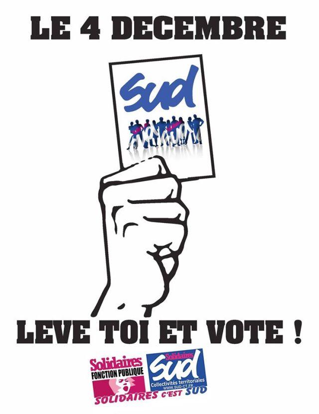 Leve toi et vote !