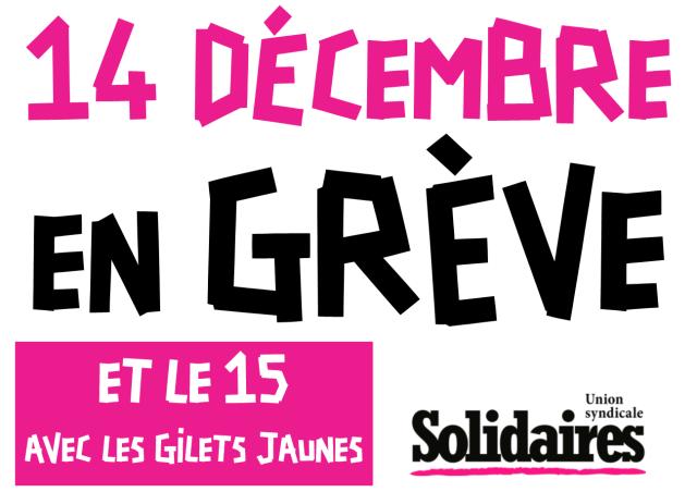 Syndicat Nantes, Gilets Jaune
