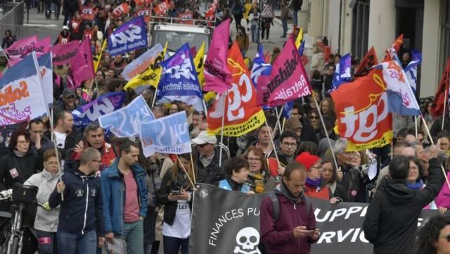 Manifestation Nantes 9 mai