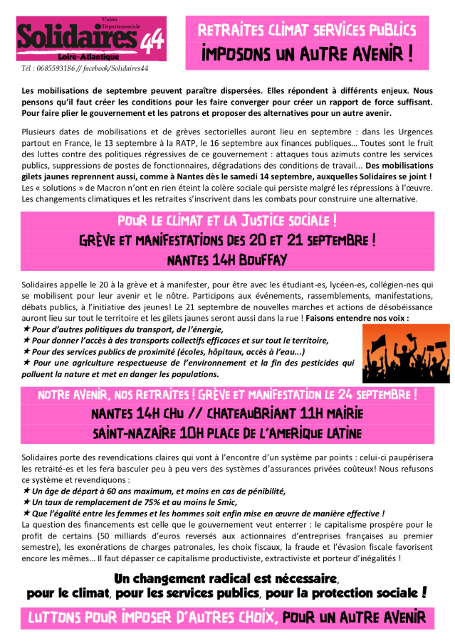 Syndicat SUD Solidaires 44