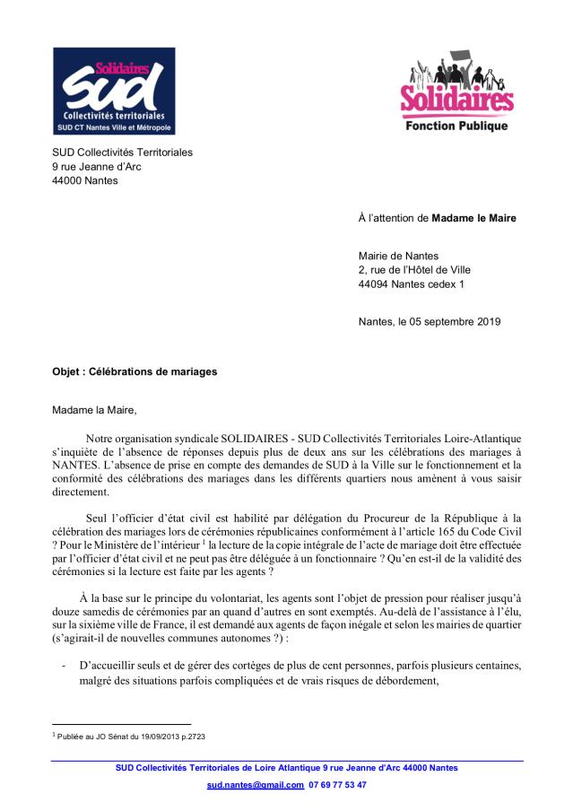 Syndicat Nantes