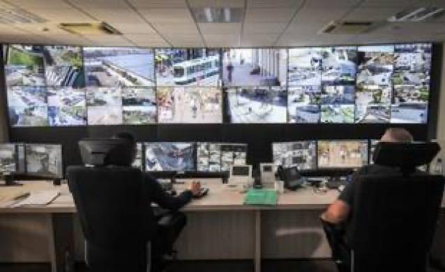 Centre de supervision urbain de Nantes métropole